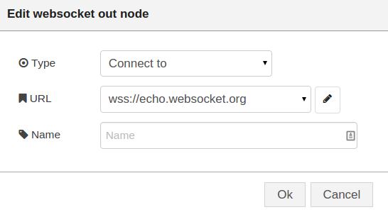 Node-RED: Lecture 3 – Example 3 7 Using Websockets with Node-RED